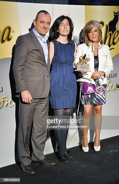 Lydia Lozano attends Sheba awards photocall on May 23 2013 in Madrid Spain