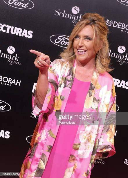 Lydia Lozano attends the 'Lecturas' magazine centenary party at Florida Retiro on September 27 2017 in Madrid Spain
