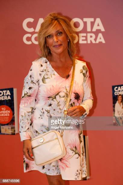 Lydia Lozano attends the presentation of the book 'Tu Tambien Puedes' by Carlota Corredera