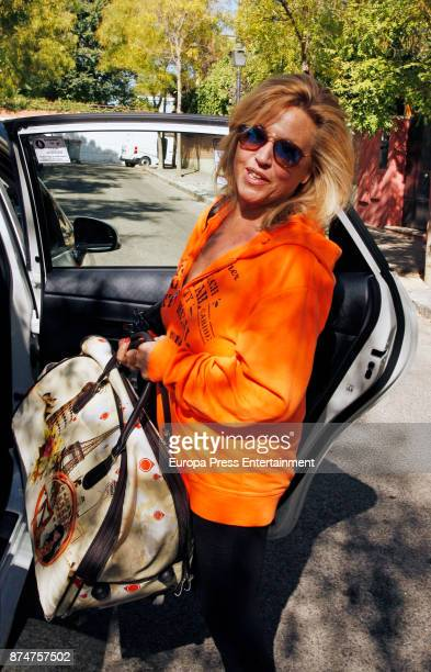 Lydia Lozano is seen on October 26 2017 in Madrid Spain