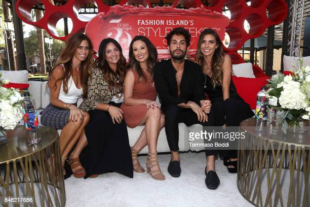 Lydia McLaughlin Erica Beukelman Susan Yara Joey Maalouf and Audrina Patridge attend the Fashion Island's StyleWeekOC Presented By SIMPLY on...