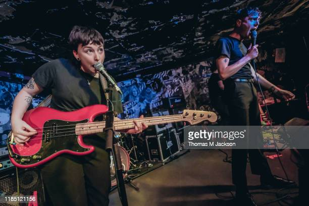 Lydia Palmeira and Mez Green of Life perform at Think Tank on November 02, 2019 in Newcastle upon Tyne, England.