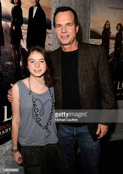 Lydia Paxton and Actor Bill Paxton arrive at HBO's Big Love Season 5 Premiere held at the Directors Guild Of America on January 12 2011 in Los...