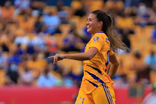 MEX: Tigres UANL v Necaxa - Torneo Grita Mexico A21 Liga MX Femenil