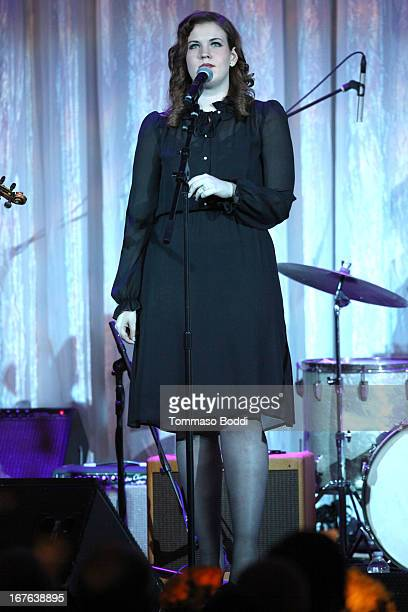 Lydia Rogers of Secret Sisters performs at the Jonsson Cancer Center Foundation at UCLA's 18th annual Taste For A Cure Fundraiser held at Regent...