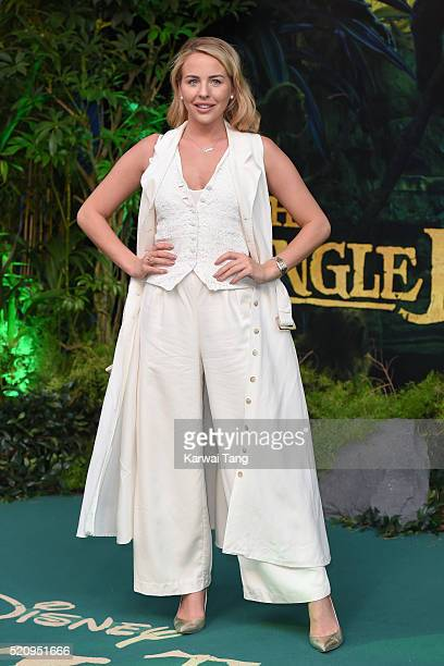 Lydia Rose Bright arrives for the European premiere of 'The Jungle Book' at BFI IMAX on April 13 2016 in London England