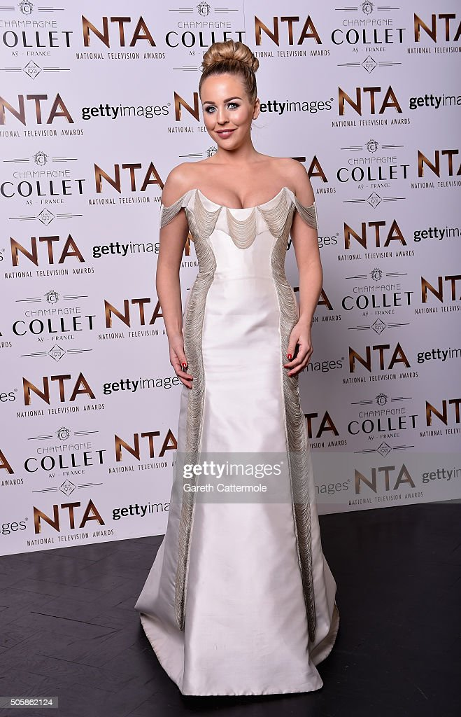 Lydia Rose Bright attends the 21st National Television Awards at The O2 Arena on January 20, 2016 in London, England.
