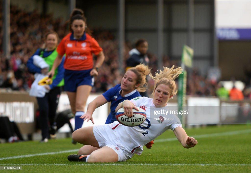 England Women v France Women - Quilter International : ニュース写真