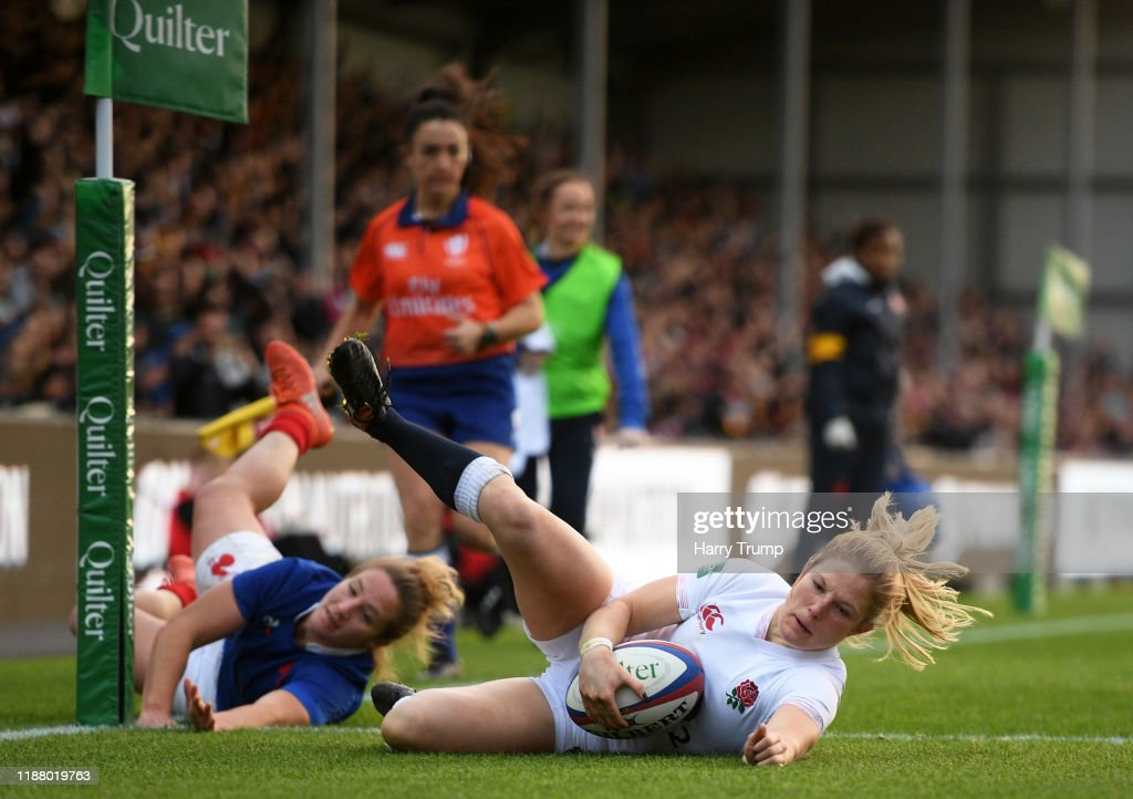 England Women v France Women - Quilter International : Photo d'actualité