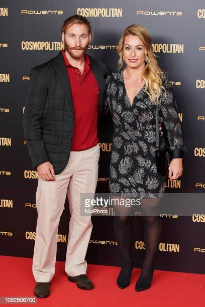 Lydia Valentin attends the Cosmopolitan Magazine Awards 2018 Photocall at 'Florida Retiro' in Madrid on October 18 2018