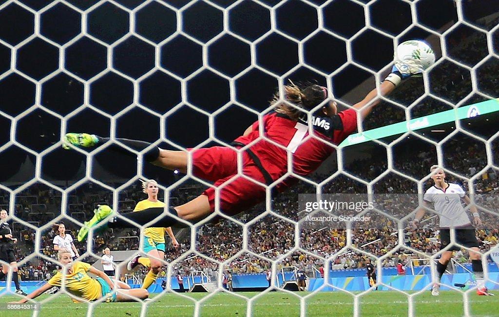 Germany v Australia: Women's Football - Olympics: Day 1