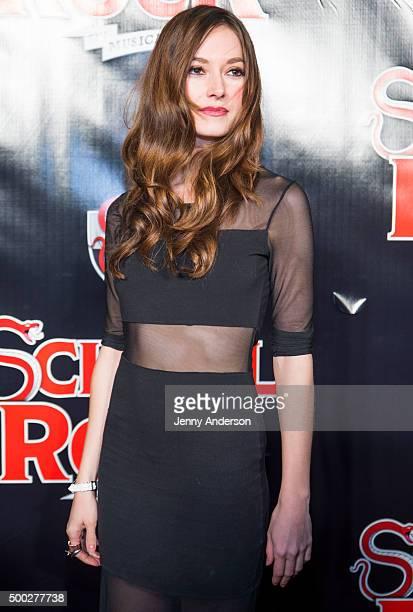 Lydia Wilson attends School Of Rock Broadway opening night at Winter Garden Theatre on December 6 2015 in New York City