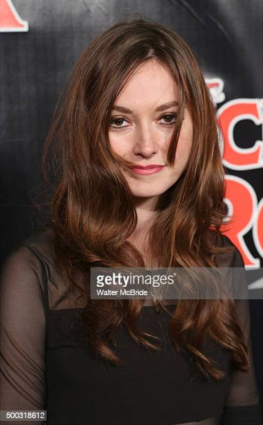 Lydia Wilson attends the Broadway Opening Night Performance of 'School of Rock' at the Winter Garden Theatre on December 6 2015 in New York City