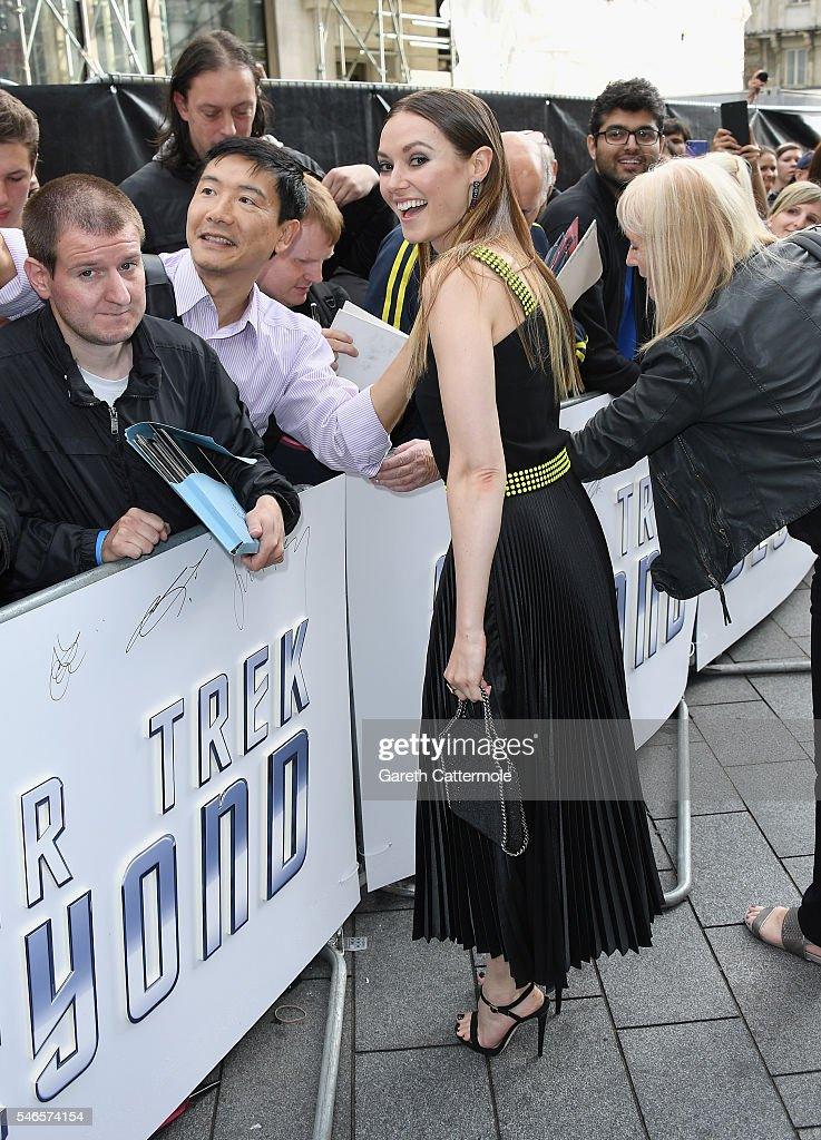 Lydia Wilson attends the UK Premiere of Paramount Pictures 'Star Trek Beyond' at the Empire Leicester Square on July 12, 2016 in London, England.