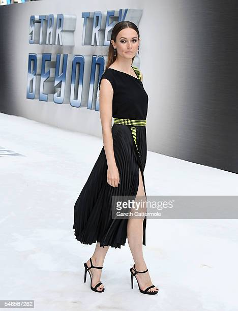 Lydia Wilson attends the UK Premiere of Paramount Pictures Star Trek Beyond at the Empire Leicester Square on July 12 2016 in London England