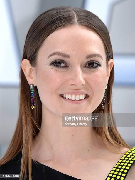 Lydia Wilson attends the UK premiere of Star Trek Beyond on July 12 2016 in London United Kingdom