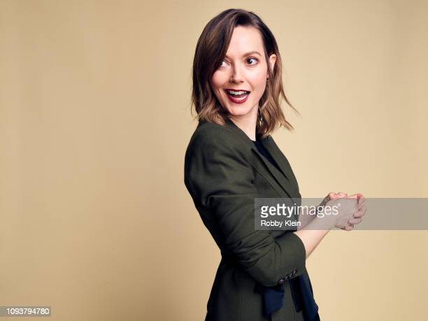 Lydia Wilson of CBS's 'Flack' poses for a portrait during the 2019 Winter TCA Portrait Studio at The Langham Huntington Pasadena on January 30 2019...