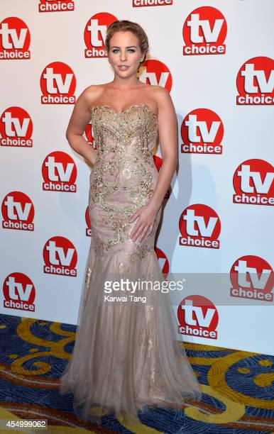 LydiaRose Bright attends the TV Choice Awards 2014 at London Hilton on September 8 2014 in London England