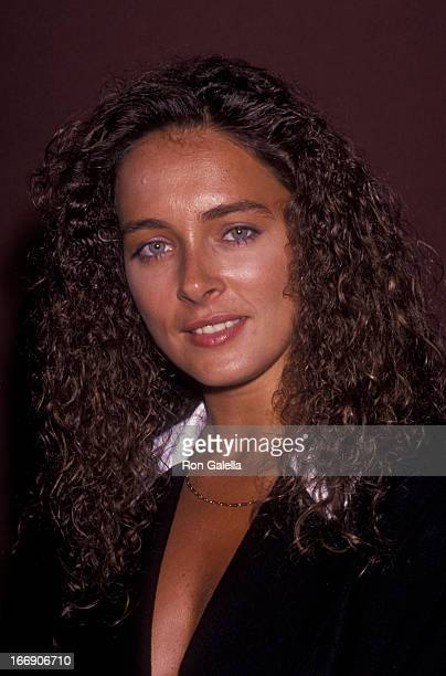 Lydie Denier attends Independent Television Summer Press Tour on August 1 1991 at the Universal Hilton Hotel in Universal City California