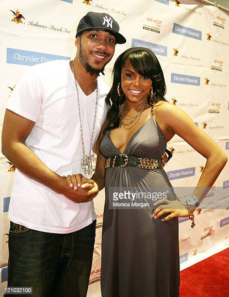 Lyfe Jennings and LeToya Luckett on the red carpet at the Get Your Money Right Financial Education Seminar at the Hip Hop Summit during the 37th...