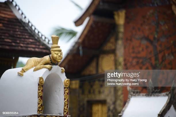 Lying statue in Wat Xieng Thong