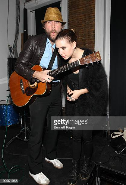 Lykke Li attends Photopass A Medium Format exhibition by Aaron Stern at Studio 385 on September 17 2009 in New York City