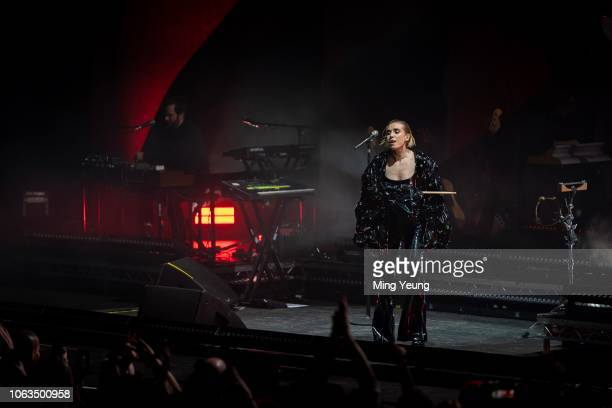 Lykke Li performs at the O2 Academy Brixton on November 4 2018 in London England