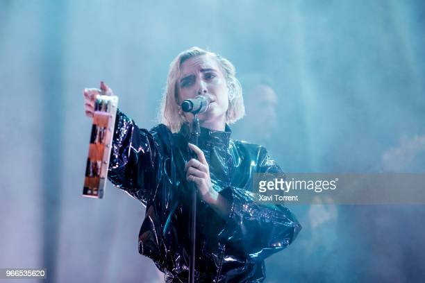 Lykke Li performs in concert during day 4 of the Primavera Sound Festival on June 2 2018 in Barcelona Spain