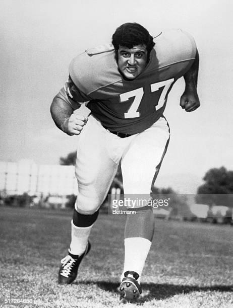 Lyle Alzado in a 1971 filer