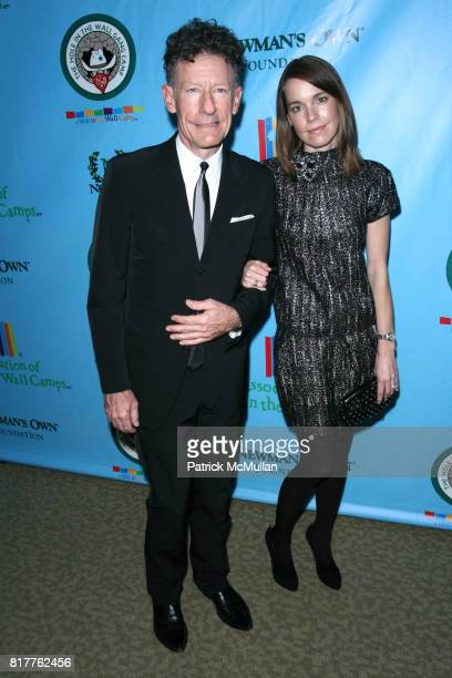 Lyle Lovett and April Kimble attend A Celebration of PAUL NEWMAN's HOLE IN THE WALL Camps at Lincoln Center on October 21st 2010 in New York City