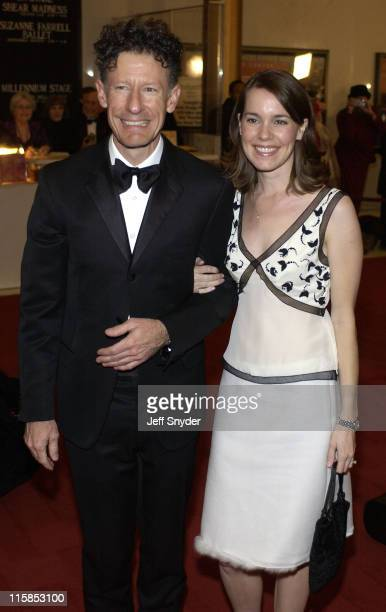 Lyle Lovett and April Kimble during 26th Annual Kennedy Center Honors at John F Kennedy Center for the Performing Arts in Washington DC United States