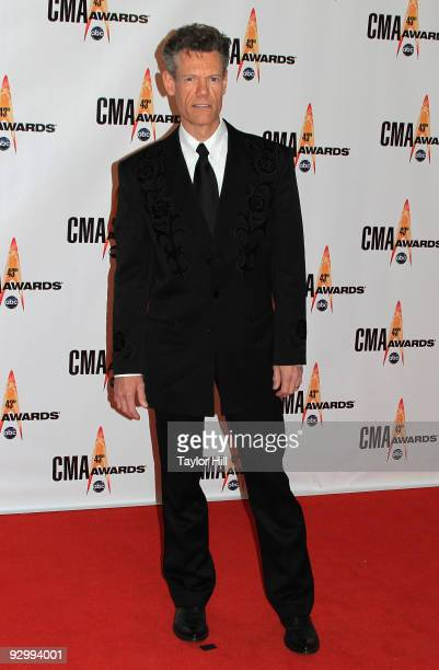 Lyle Lovett attends the 43rd Annual CMA Awards at the Sommet Center on November 11 2009 in Nashville Tennessee