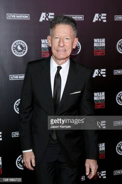 Lyle Lovett attends Willie Life and Songs of an American Outlaw at Bridgestone Arena on January 12 2019 in Nashville Tennessee
