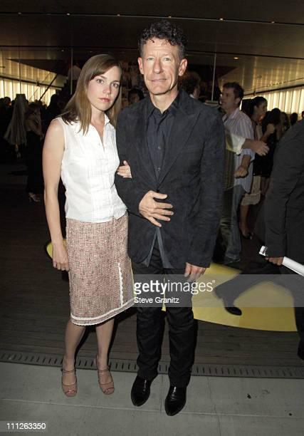 Lyle Lovett during Prada Celebrates the Los Angeles Opening of Waist Down Skirts By Miuccia Prada at Prada in Hollywood California United States