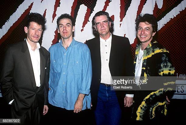 Lyle Lovett John Hiatt Guy Clark and Joe Ely at the Symphony Space in New York City on May 17 1991