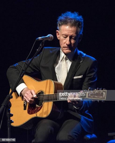 Lyle Lovett live in concert at Bergen Performing Arts Center on March 13 2018 in Englewood New Jersey