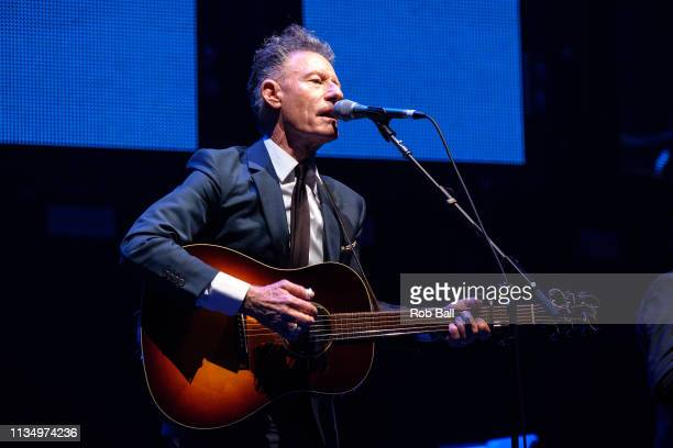 Lyle Lovett performs at C2C Country to Country at The O2 Arena on March 10 2019 in London England