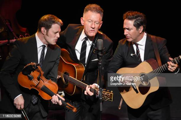 Lyle Lovett performs at The Brown Theatre on October 10 2019 in Louisville Kentucky