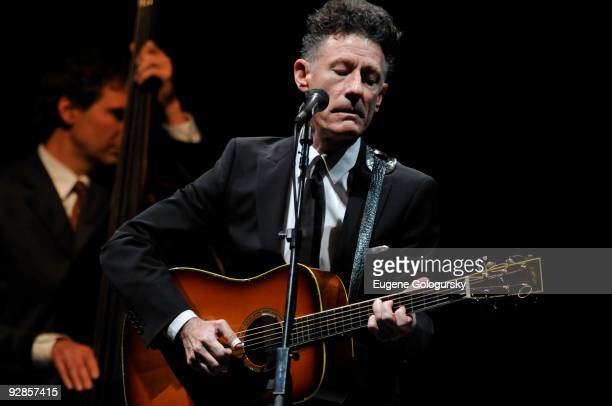 Lyle Lovett performs in concert at The Beacon Theatre on November 4 2009 in New York City