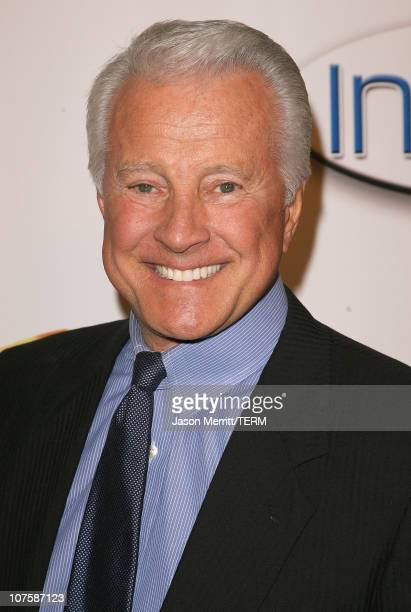 Lyle Waggoner during AOL and Warner Bros Launch In2TV at Museum of TV Radio in Los Angeles California