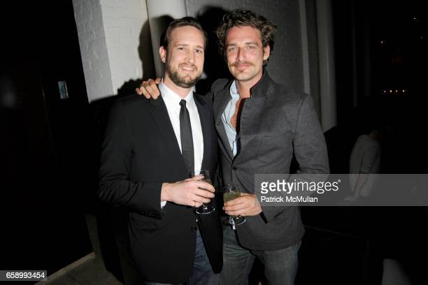 Lyman Carter and Alexi Lubomirski attend ACCOMPANIED LITERARY SOCIETY Q Department afterparty for 'TellTale' cohosted by JOSH LUCAS BRIAN COX at The...