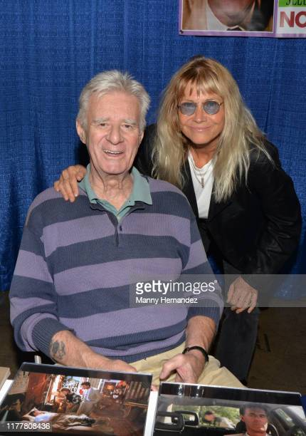 Lyman Ward and Cindy Pickett at NostalgiaCon at the Anaheim Convention Center at Anaheim California on September 28 2019