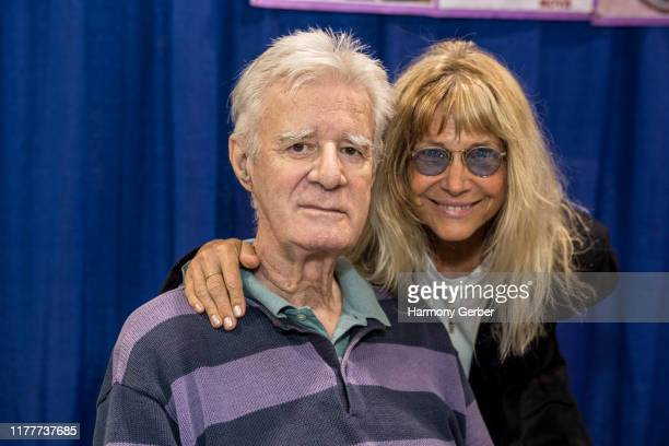 Lyman Ward and Cindy Pickett attend NostalgiaCon '80s Pop Culture Convention at Anaheim Convention Center on September 28 2019 in Anaheim California