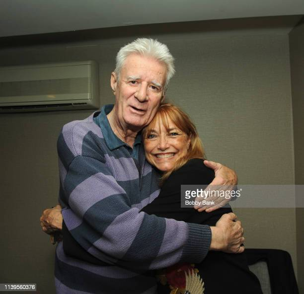 Lyman Ward and Karen Allen attend the Chiller Theatre Expo Spring 2019 at Parsippany Hilton on April 26, 2019 in Parsippany, New Jersey.
