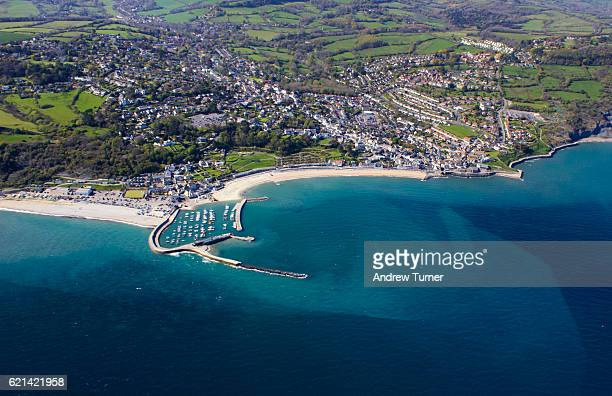 Lyme Regis from above