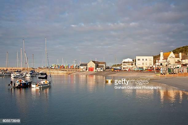 Lyme Regis Harbor