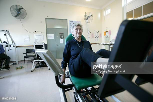 Lyn Brooker in The Stronge Clinic at Balmain Hospital 25 May 2006 SMH Picture by NATALIE BOOG