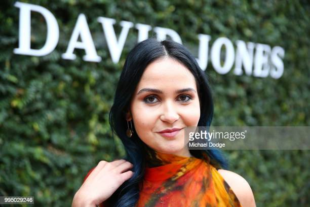 LynAl Young poses during the David Jones Spring Summer 18 Collections Launch Model Castings on July 10 2018 in Melbourne Australia