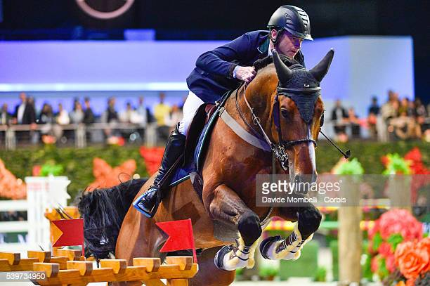 Lynch Denis All Star 5 second place MercedesBenz CSI 5* 2016 during the jump off