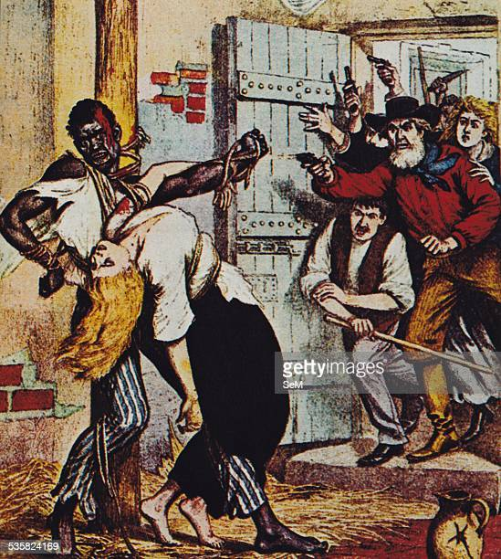 1900 lynching of a black man responsible for the death of a white woman